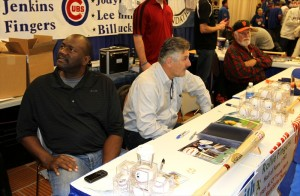 Lee Smith, Rollie Fingers, and Gaylord Perry