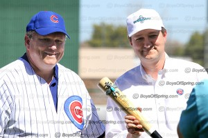 Mesa Mayor Scott Smith and Cubs Tom Ricketts