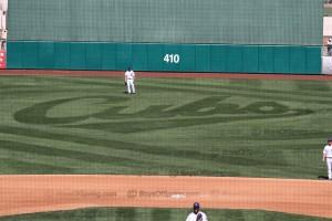 Cubs logo field