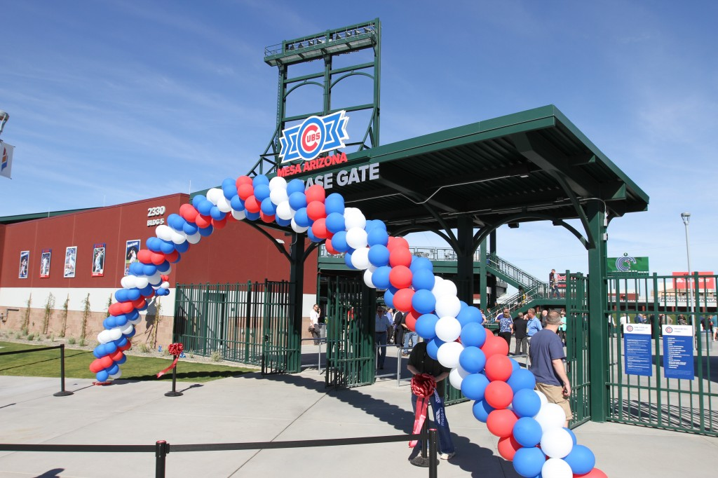 Cubs Park made a grand opening in 2014