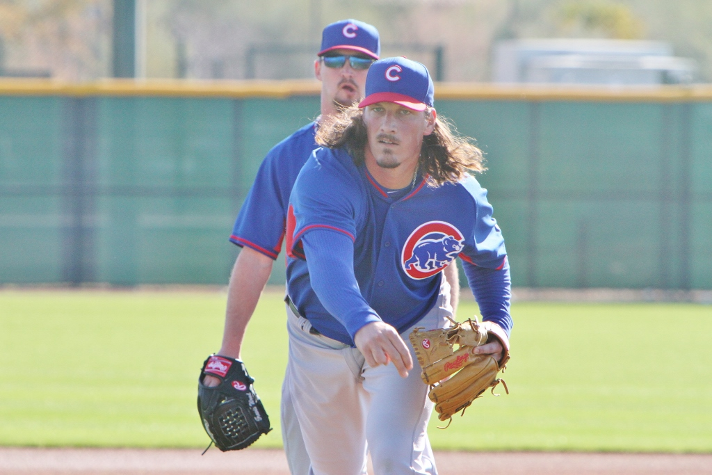 Jeff Samardzija at Cubs Park