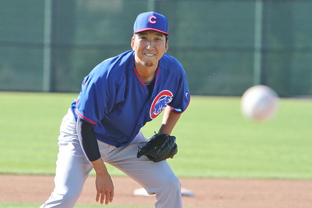 Kyuji Fujikawa of the Cubs