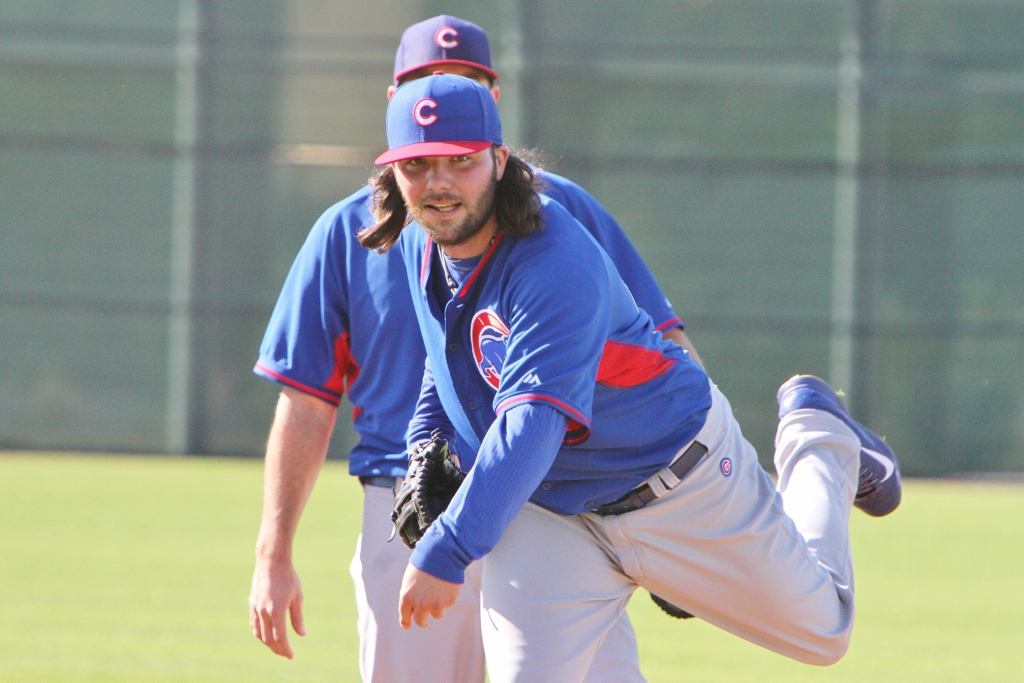James Russell of the Cubs