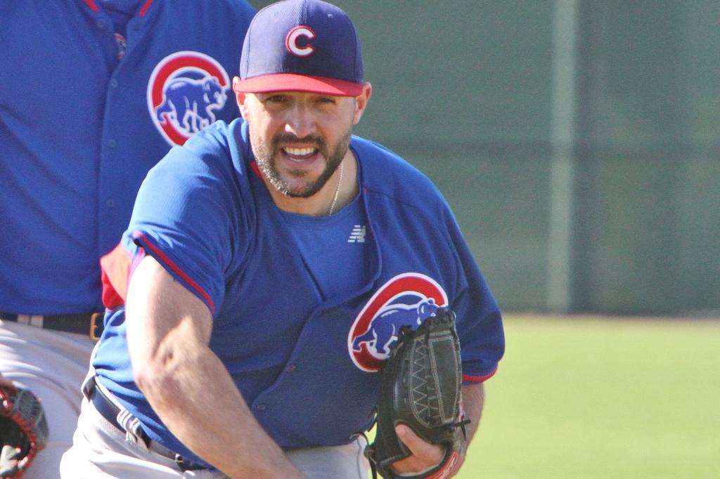 Blake Parker at Cubs Park