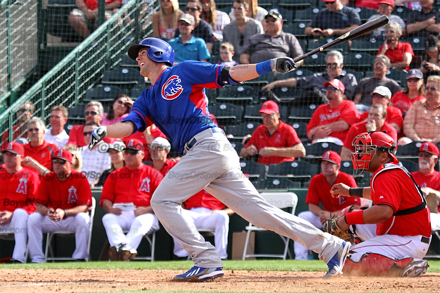 Cubs prospect Kris Bryant hits first spring training HR as a Chicago Cub