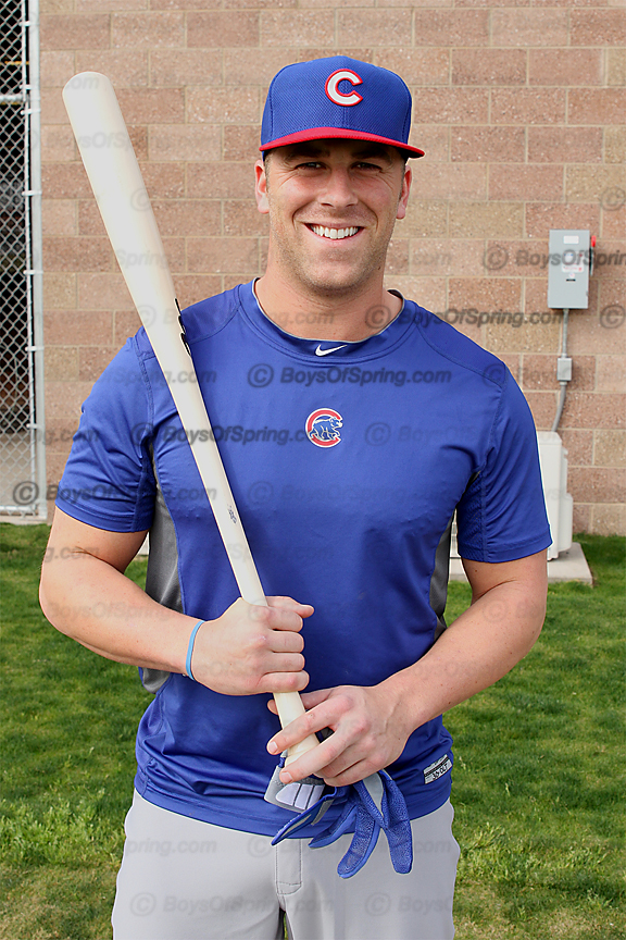 Mike Olt at Cubs Park 2014