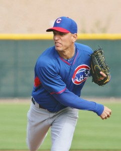 Cubs pitching prospect Armando Rivero
