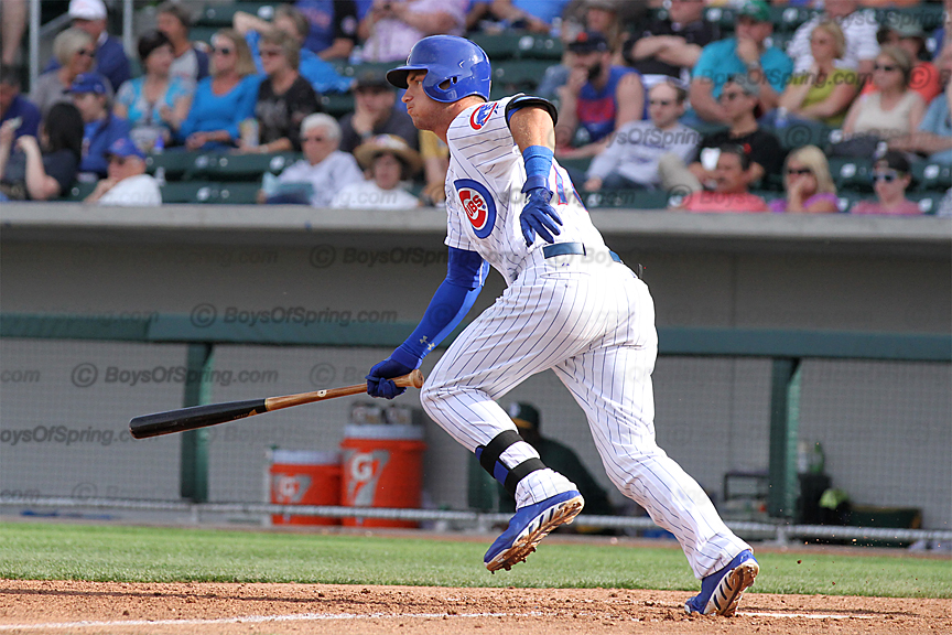 Albert Almora drives in go-ahead run for Cubs first win at Cubs Park