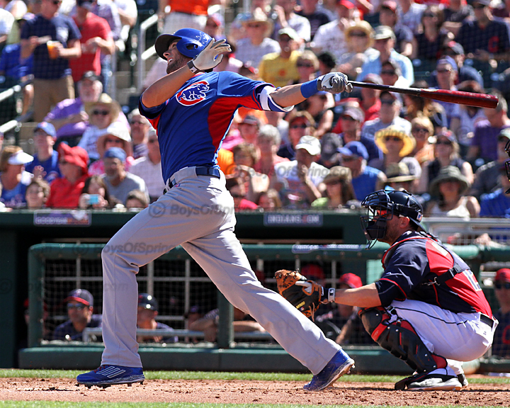 Then it's Kris Bryant's turn to launch