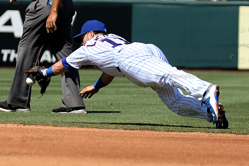 Tommy La Stella diving grab