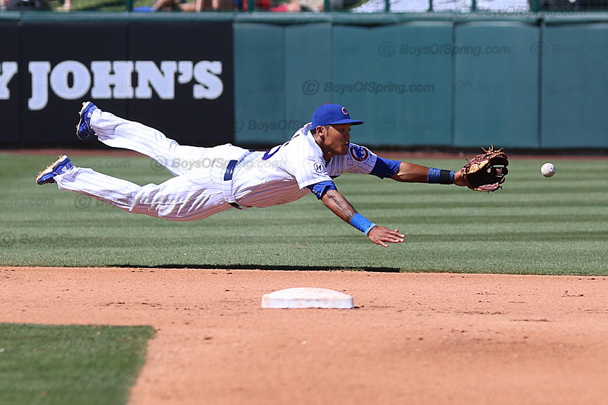 Addison Russell diving effort
