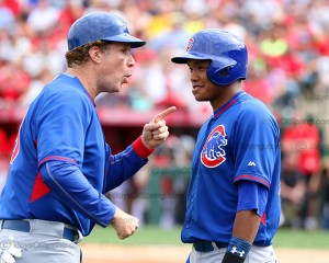Will Ferrell working it with Addison Russell