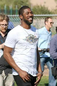 Dexter Fowler All Smiles back with Cubs