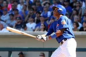 Addison Russell hits his 4th spring HR