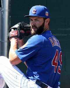 Jake Arrieta in fine form, 2 innings, no hits, 4 K's