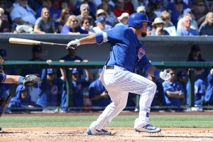 Schwarber one of two hits