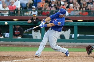 Montero broken bat hit vs Giants on Thursday