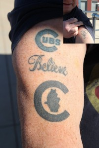Peter tattoos
