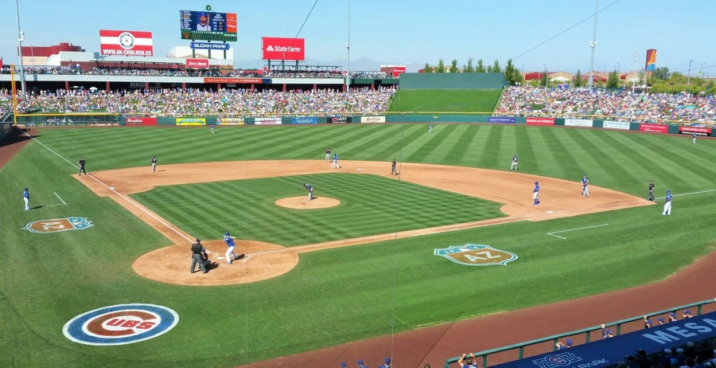 Sloan Park and Cubs set new record