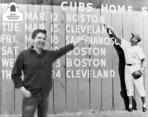Me and Ernie Banks