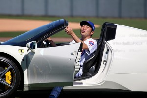 Koji Uehara digging the ride