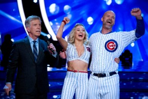 Grandpa Rossy with partner Lindsay Arnold