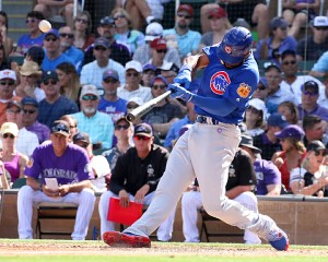 Jason Heyward HR on Saturday vs Rockies