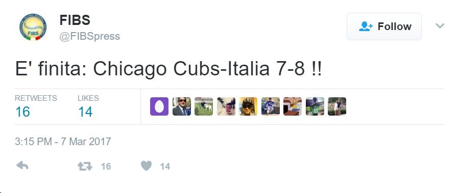 Italy tweet