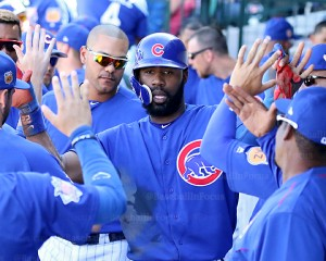 Jason Heyward fivin