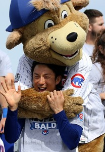 Kawasaki getting some love from Clark the Cub