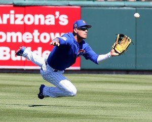 Albert Almora Jr. can't make catch on Friday, returns for monster game on Sunday