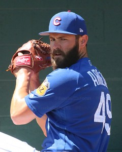 Jake Arrieta pitched 4 innings, giving up 3 runs