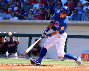 Munenori Kawasaki belts triple vs Indians on Friday