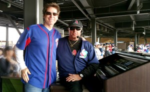 Me and Diamondbacks organist Bobby Freeman