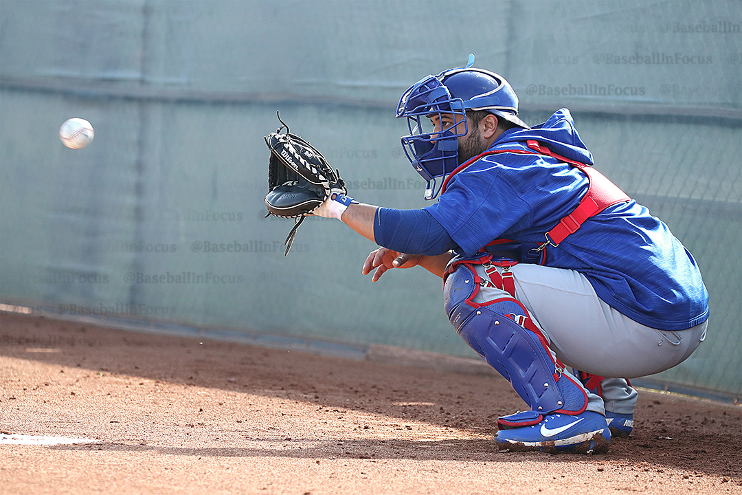 Catcher Erick Castillo has been in the Cubs system since 2012