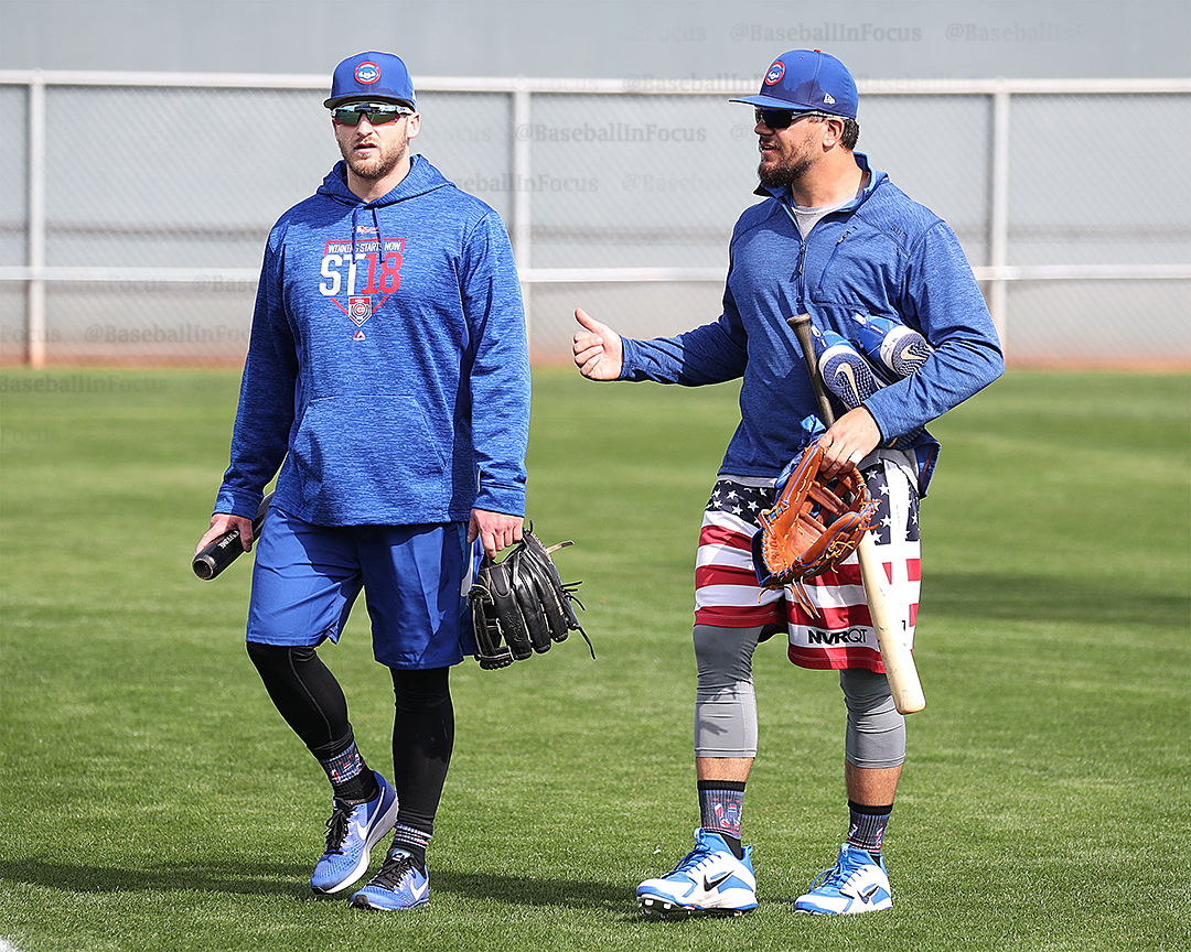 Mark Zagunis and Kyle Schwarber