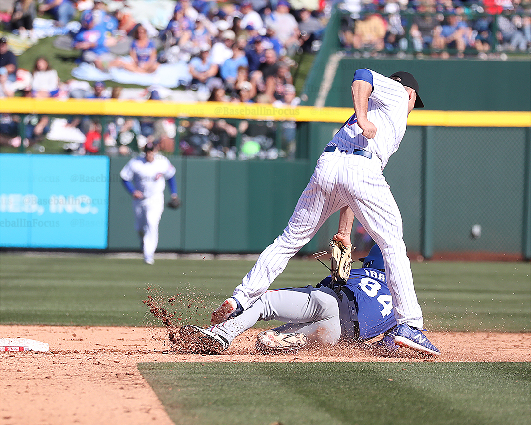 Vosler with the tag