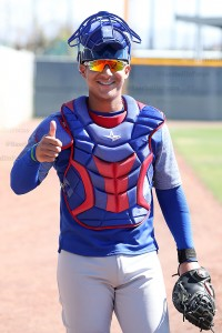 19 year old catching prospect Miguel Amaya also celebrated his birthday yesterday