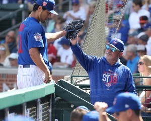 Darvish and Maddon