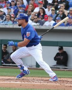 Schwarber hitting .385 this spring