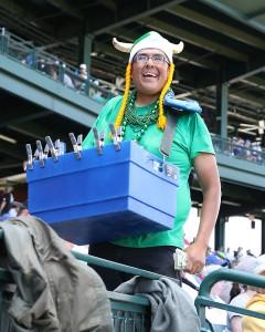 Terry Yazzie beer vendor